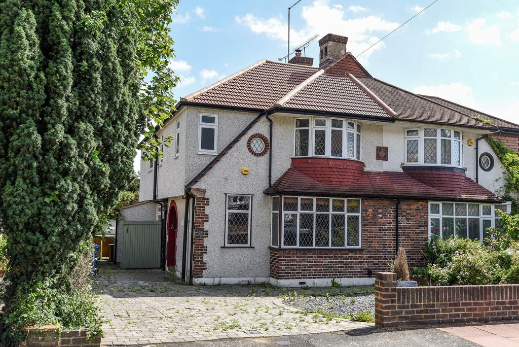 4 Bedrooms Semi Detached House for sale in Courtfield Rise West Wickham BR4