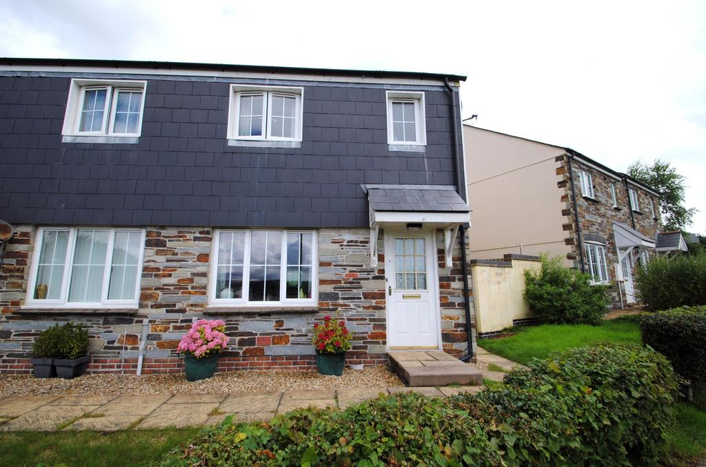 3 Bedrooms Semi Detached House for sale in Helman Tor View, Bodmin