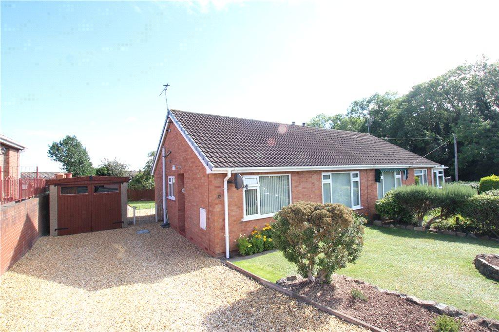 2 Bedrooms Semi Detached Bungalow for sale in Aston Drive, Malvern, Worcestershire, WR14