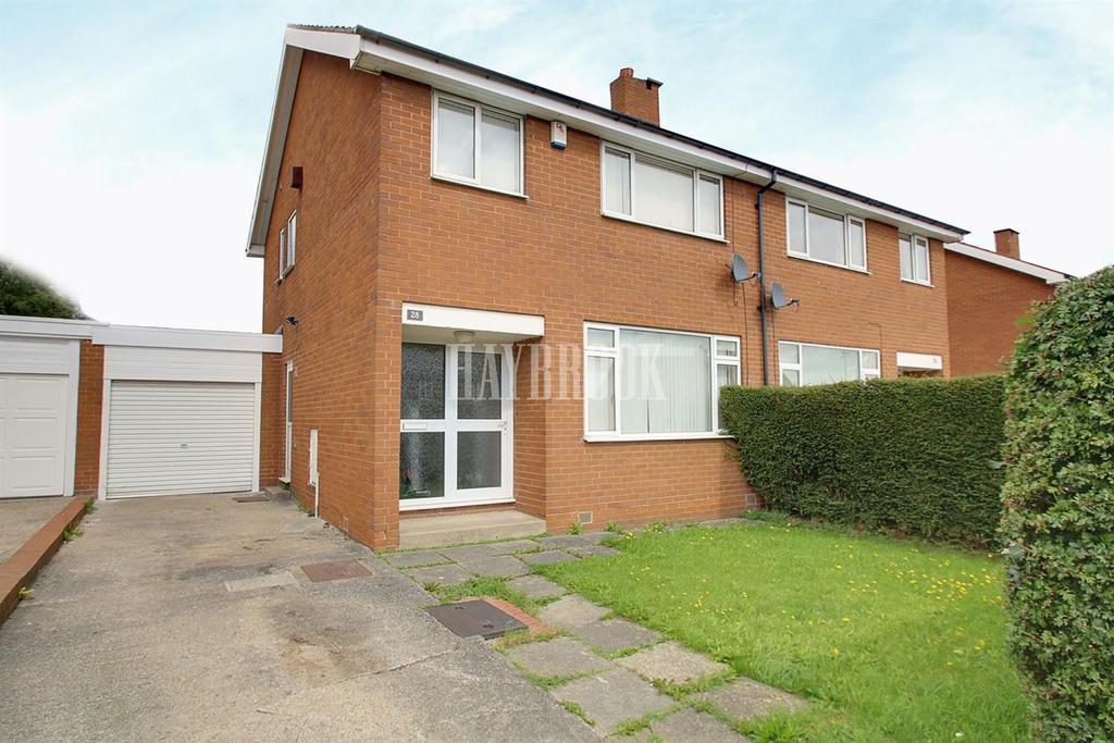 3 Bedrooms Semi Detached House for sale in Westfield Avenue, Hackenthorpe