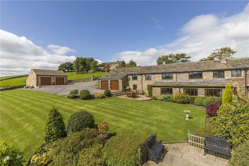 4 Bedrooms Unique Property for sale in Haws Barn, Cowling Hill, Keighley, North Yorkshire