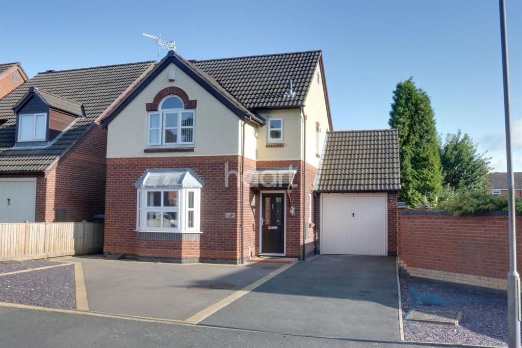 3 Bedrooms Detached House for sale in Leen Valley Way, Hucknall