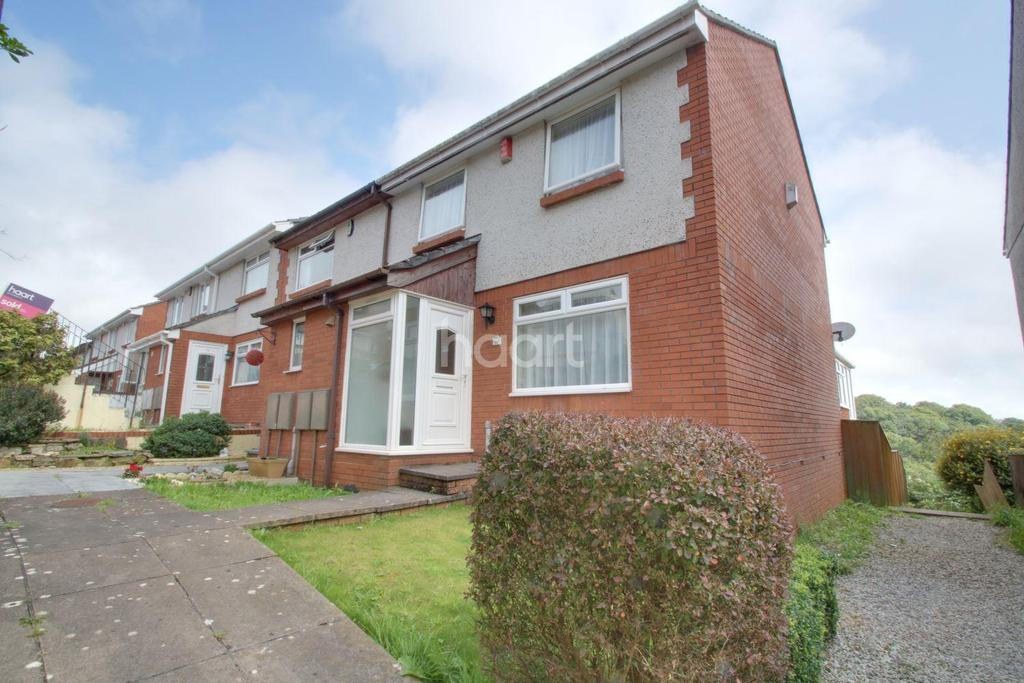 3 Bedrooms End Of Terrace House for sale in Coombe Way, Plymouth