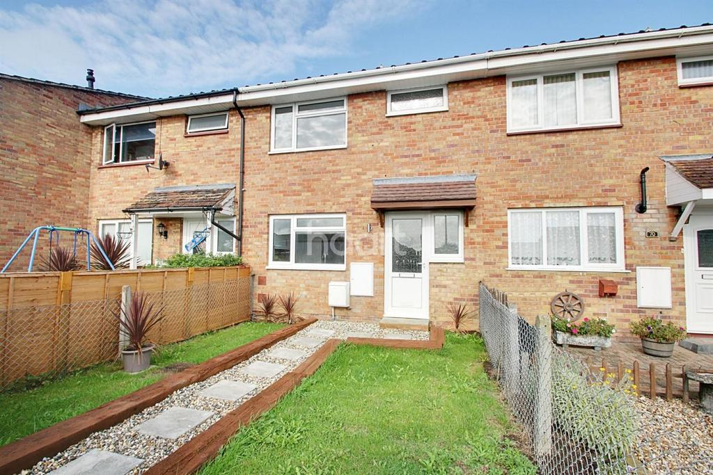 3 Bedrooms Terraced House for sale in Speedwell Close, Witham, CM8