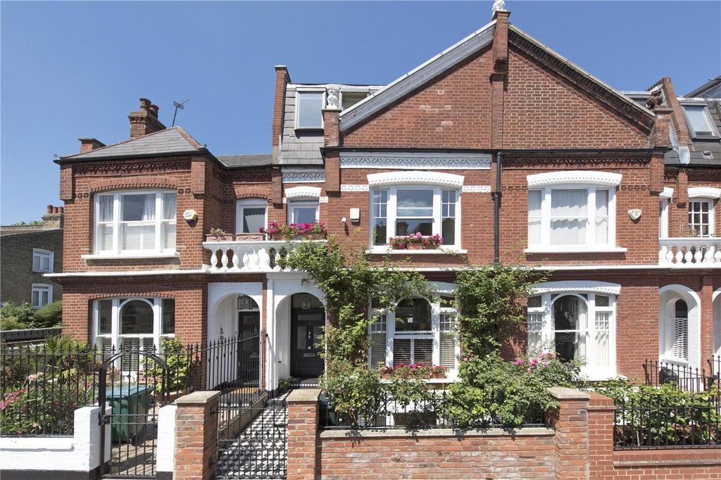 6 Bedrooms Terraced House for sale in Cresford Road, Fulham, London, SW6