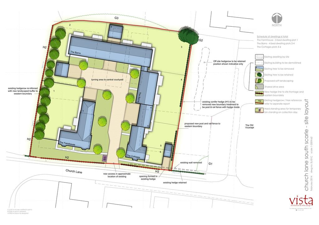 5 Bedrooms Semi Detached House for sale in Development Site, Redmay Farm, Church Lane, South Scarle, NG23