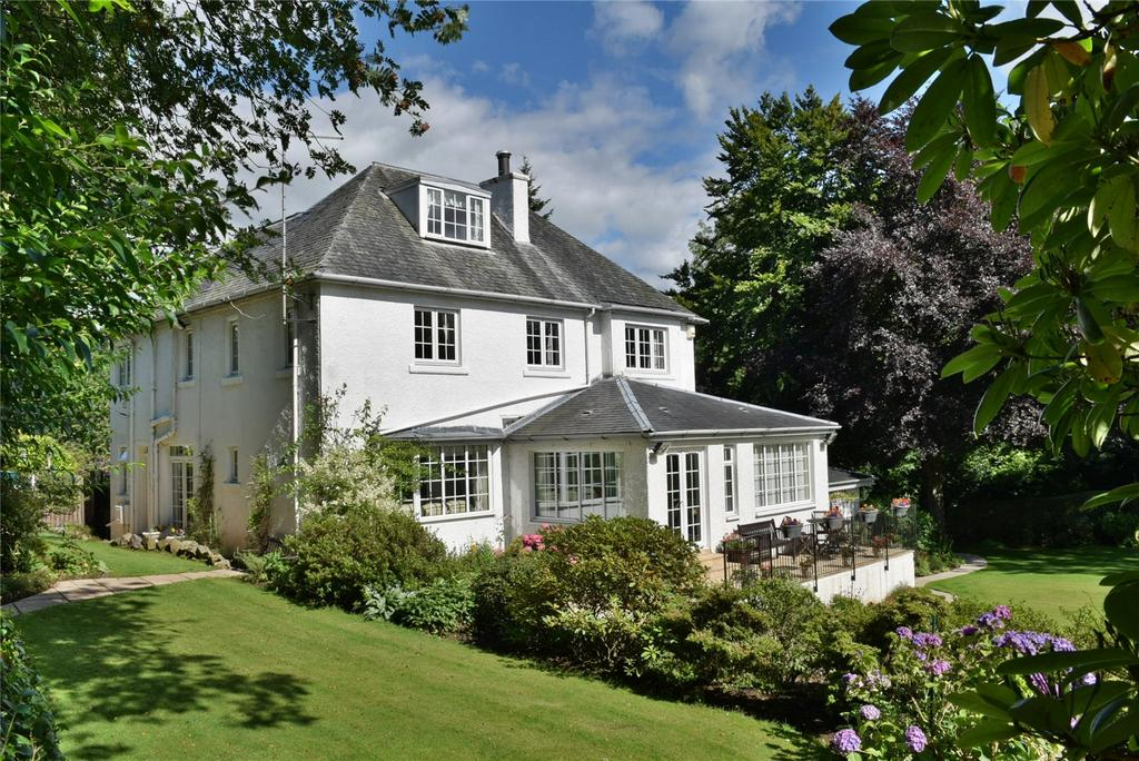 5 Bedrooms Detached House for sale in Pendicle Road, Bearsden, Glasgow