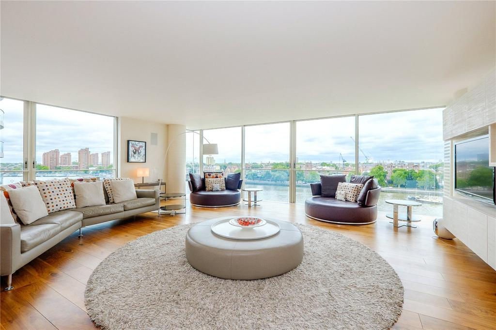 3 Bedrooms Flat for sale in Hester Road, Battersea, London, SW11