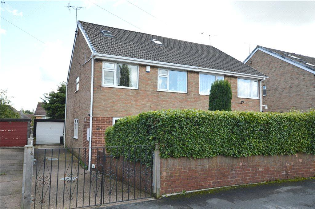 5 Bedrooms Semi Detached House for sale in Priestley Drive, Pudsey, West Yorkshire