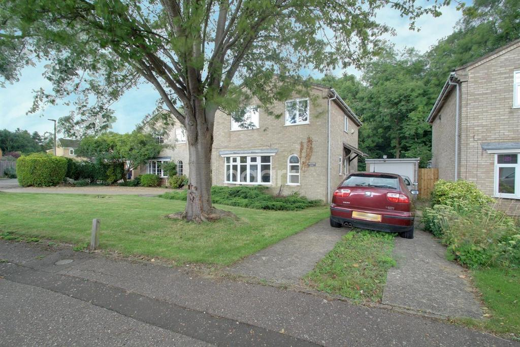 4 Bedrooms Detached House for sale in Dunsberry, Bretton