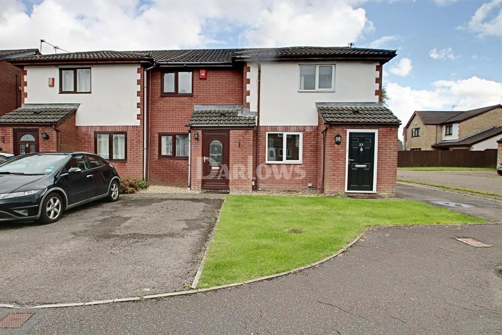 1 Bedroom End Of Terrace House for sale in Orchid Close, St Mellons, Cardiff