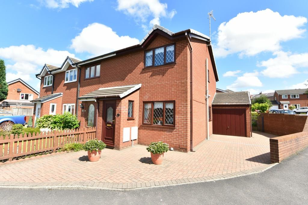 2 Bedrooms End Of Terrace House for sale in Rosecroft Close, Ormskirk