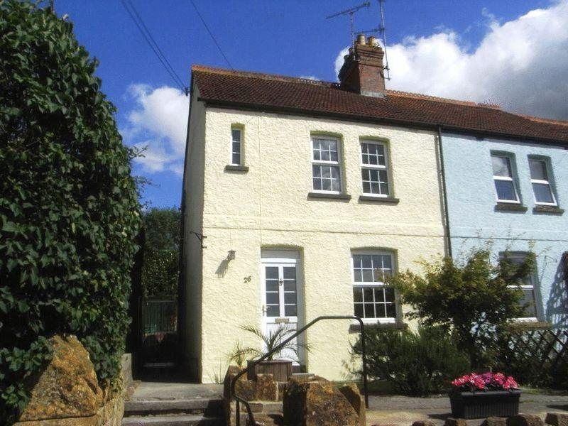 2 Bedrooms Terraced House for sale in Broadshard, Crewkerne