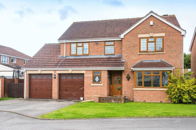 4 Bedrooms Detached House for sale in Laburnum Court, Barugh Green, Barnsley, S75 1QJ - Private Cul-De-Sac Setting
