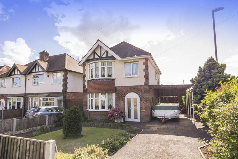 3 Bedrooms Detached House for sale in BLAGREAVES LANE, LITTLEOVER.