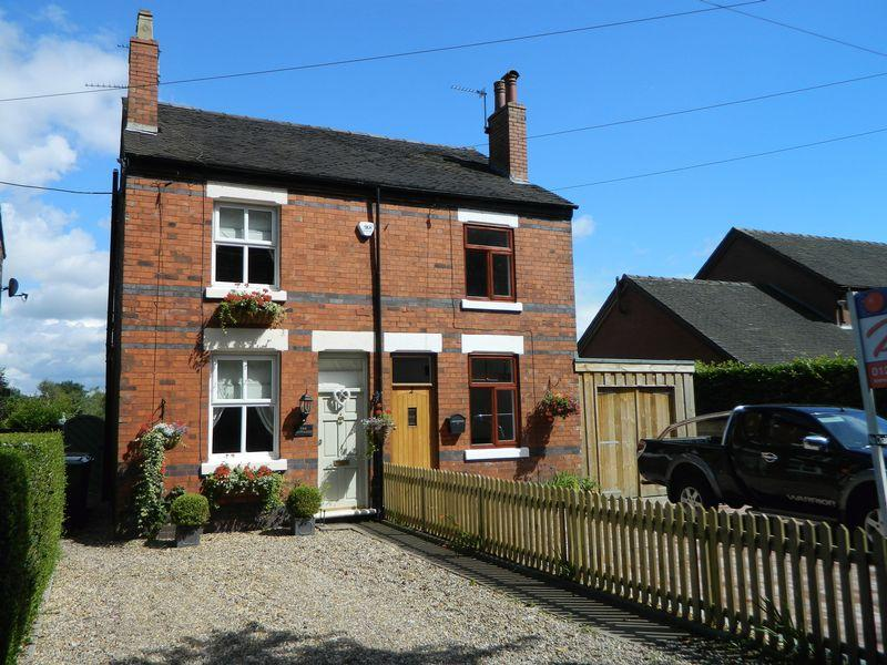2 Bedrooms Semi Detached House for sale in Chells Hill, Church lawton