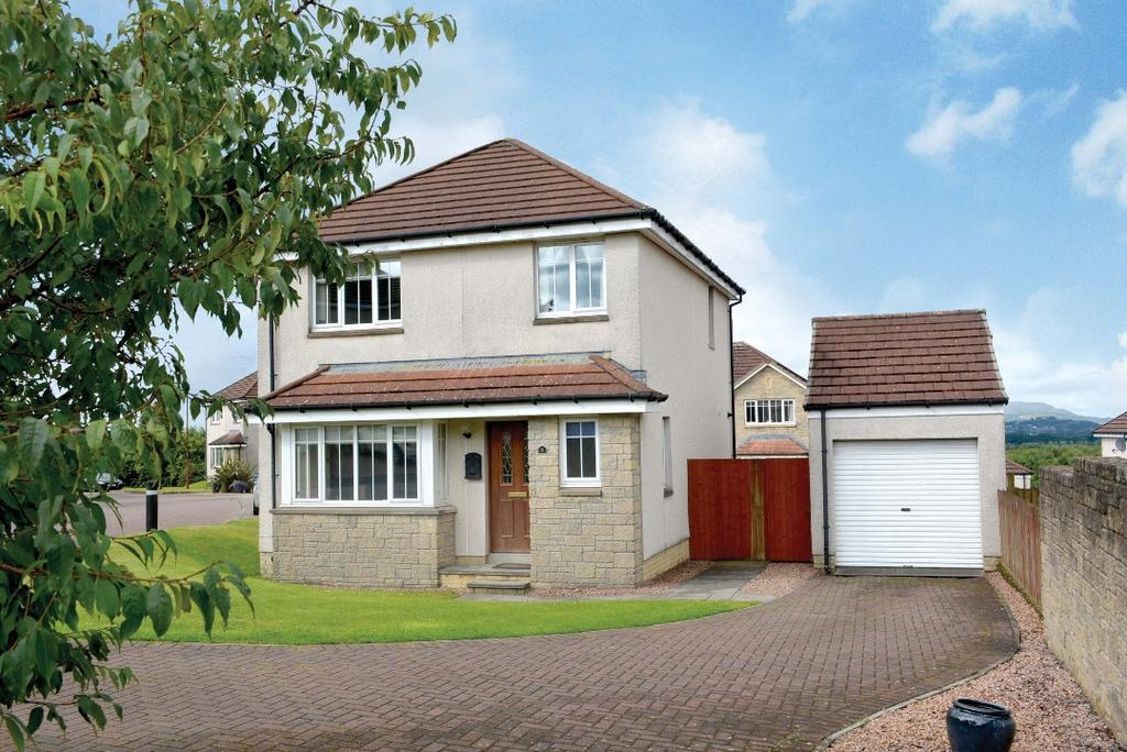 3 Bedrooms Detached House for sale in Macalpine Court, Tullibody, Stirling, FK10 2FB