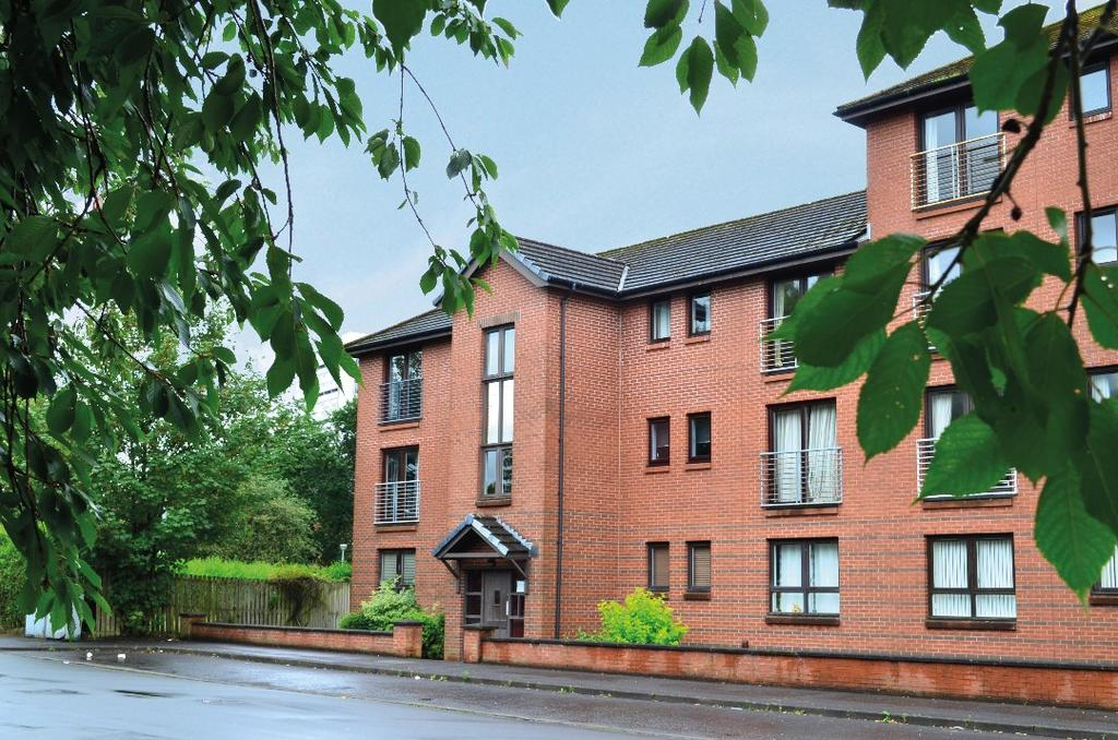 2 Bedrooms Flat for sale in Sutcliffe Road, Flat 2/1, Anniesland , Glasgow , G13 1AQ
