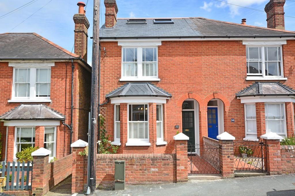 5 Bedrooms Semi Detached House for sale in Agraria Road, Guildford