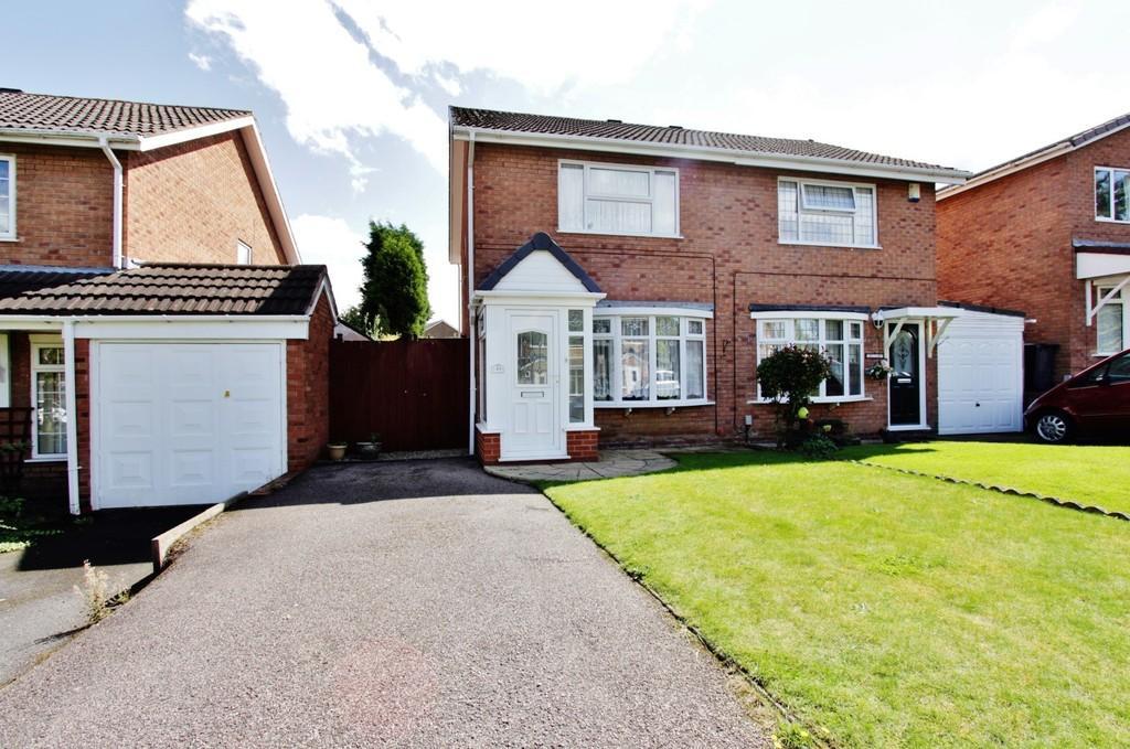 2 Bedrooms Semi Detached House for sale in Cornel, Amington
