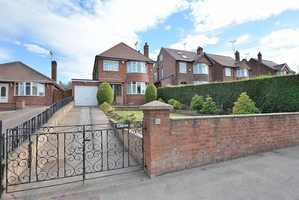 3 Bedrooms Detached House for sale in King George V Avenue, Mansfield