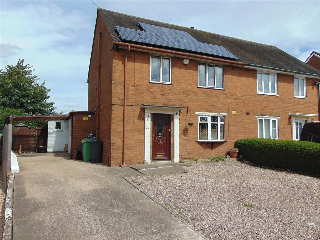 3 Bedrooms Semi Detached House for sale in Queens Road, Rushall