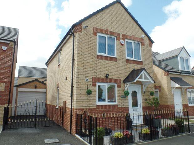 3 Bedrooms Semi Detached House for sale in DORMAND COURT, WINGATE, PETERLEE AREA VILLAGES