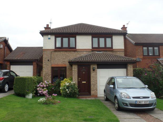 3 Bedrooms Detached House for sale in ROSE COURT, PETERLEE, OAKERSIDE, PETERLEE