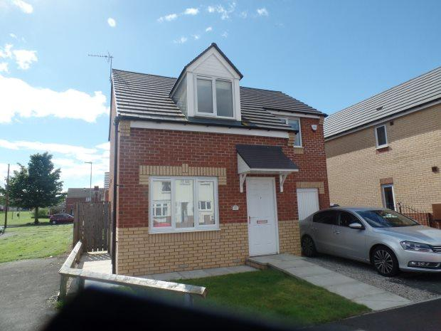 3 Bedrooms Detached House for sale in DORMAND COURT, WINGATE, PETERLEE AREA VILLAGES