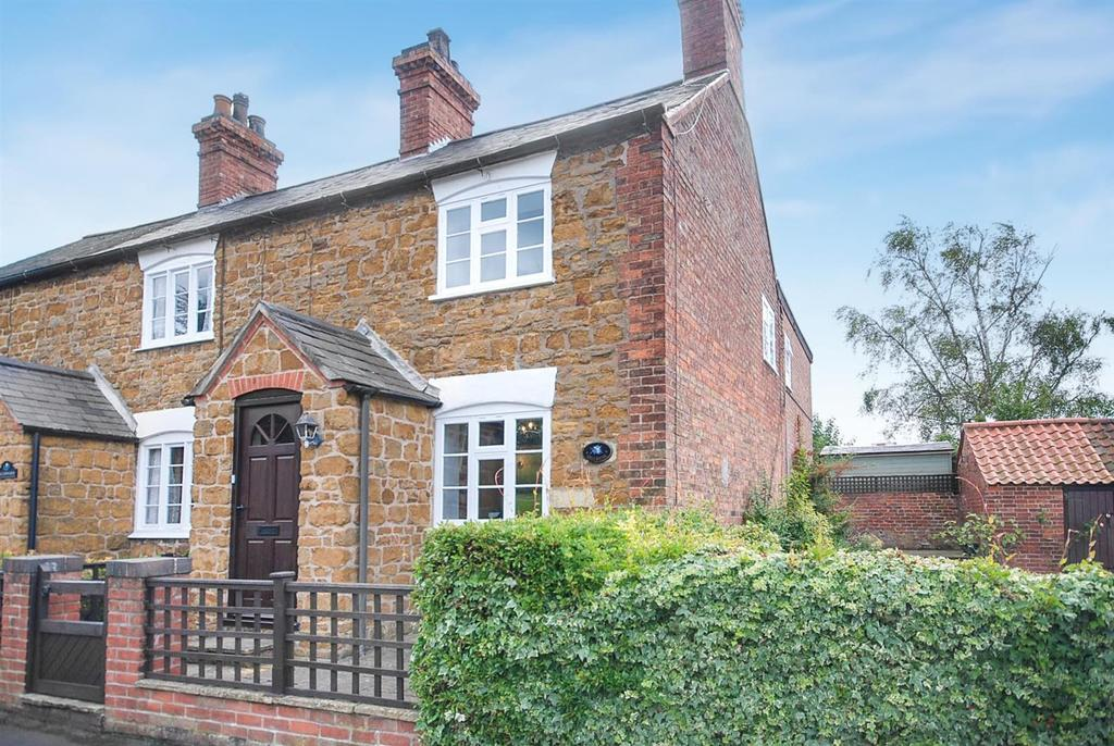 3 Bedrooms End Of Terrace House for sale in King Street, Scalford, Melton Mowbray