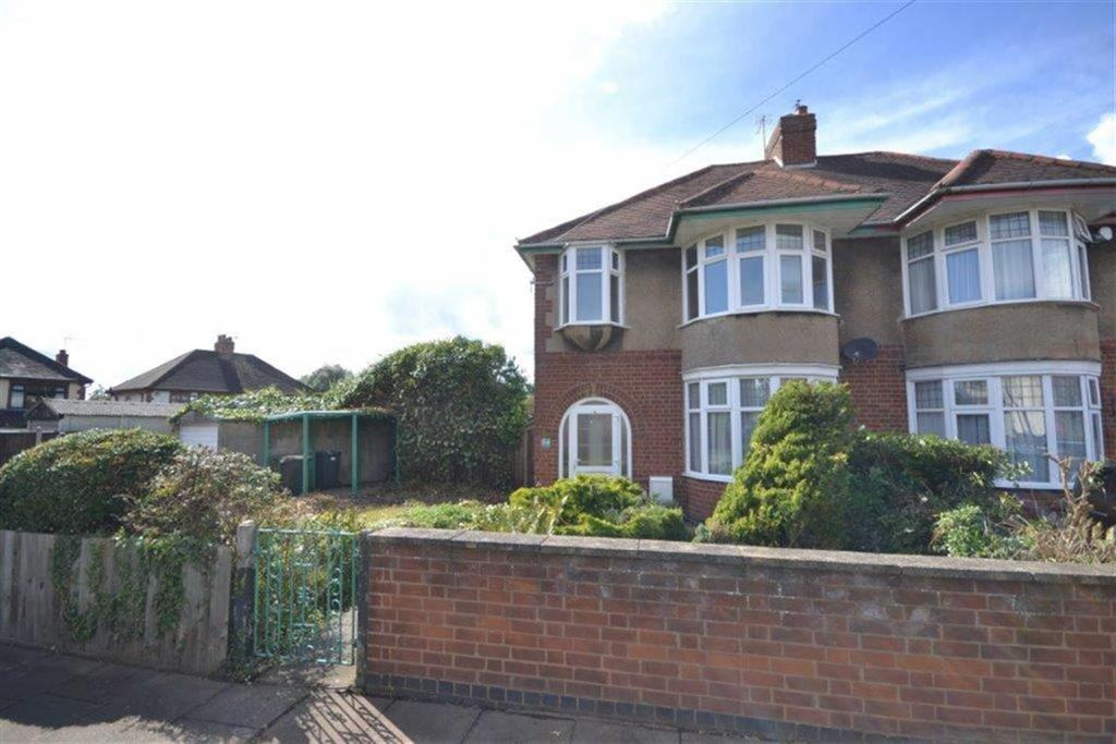 3 Bedrooms Semi Detached House for sale in Shanklin Drive, Weddington, Nuneaton