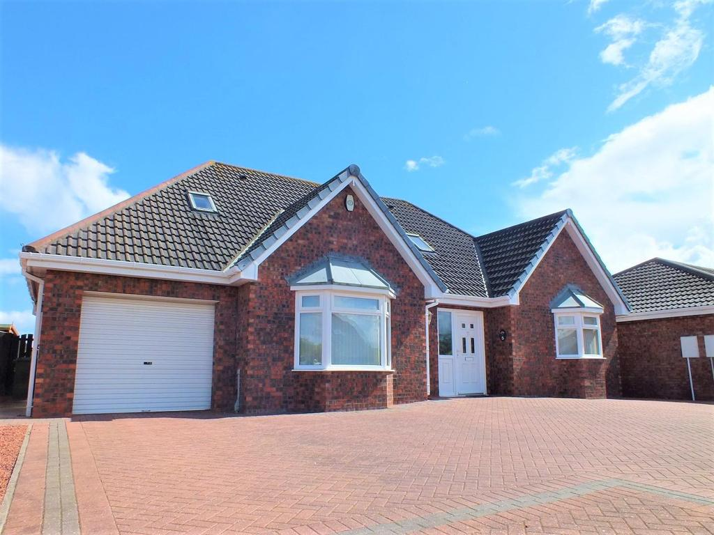 3 Bedrooms Detached Bungalow for sale in Blenheim Court, Blyth