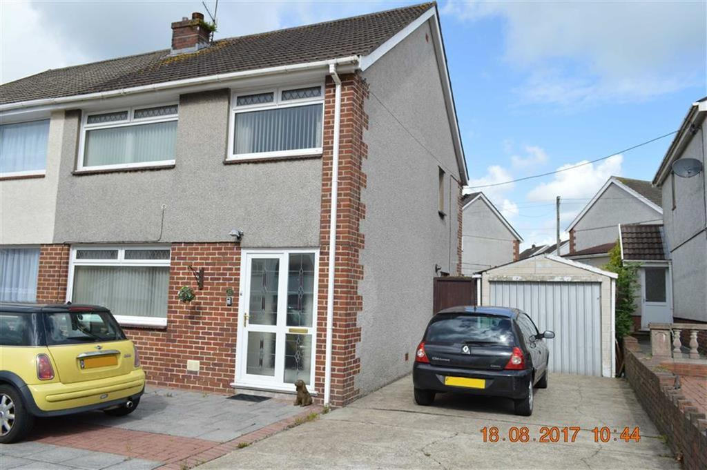 3 Bedrooms Semi Detached House for sale in Dyffryn Road, Swansea, SA4