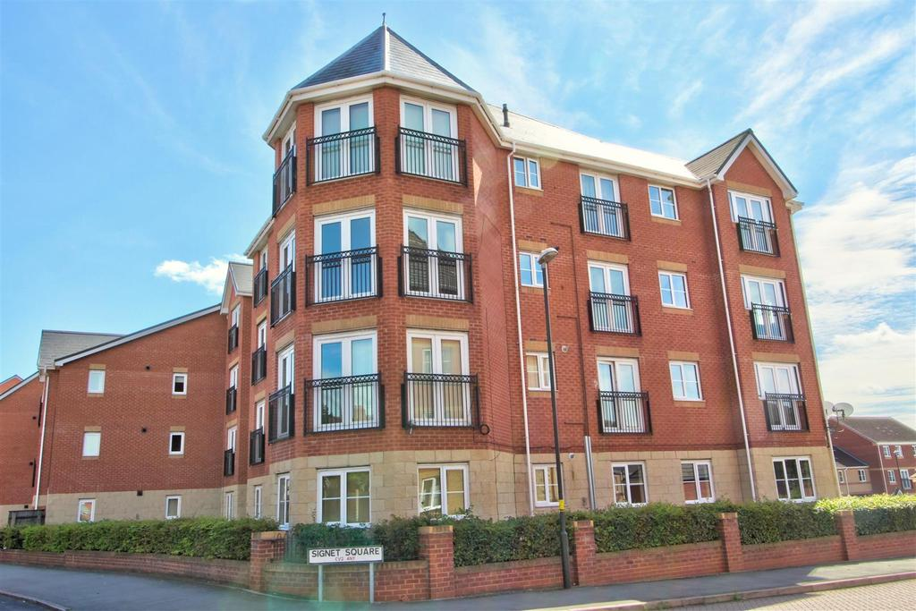 2 Bedrooms Apartment Flat for sale in Signet Square, Stoke, Coventry