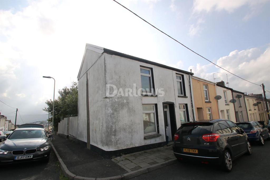 2 Bedrooms End Of Terrace House for sale in Alma Street Dowlais