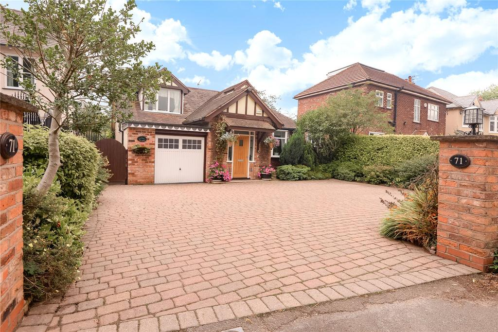 4 Bedrooms Detached House for sale in Knutsford Road, Alderley Edge, Cheshire, SK9