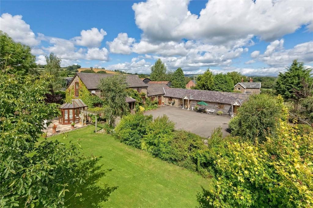 5 Bedrooms Detached House for sale in Highgrove Farm, Long Lane, Sibdon Carwood, Craven Arms, Shropshire