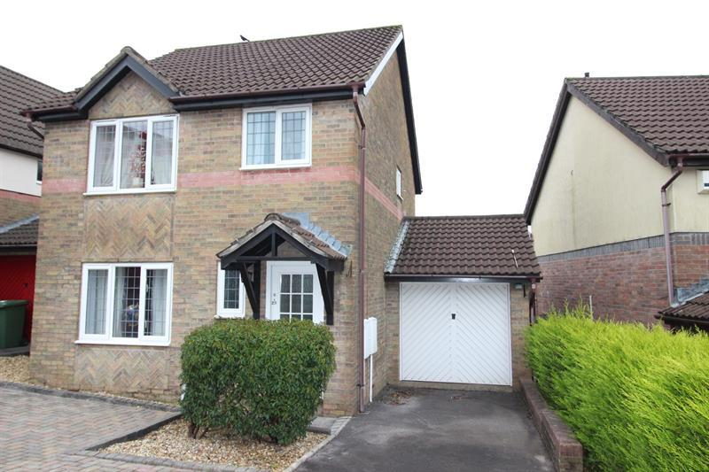 3 Bedrooms Detached House for sale in Clos Enfys, Caerphilly
