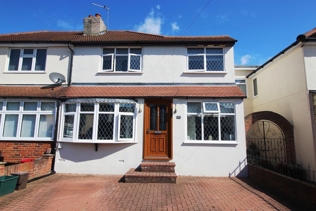 3 Bedrooms Semi Detached House for sale in Grosvenor Road Bexleyheath DA6
