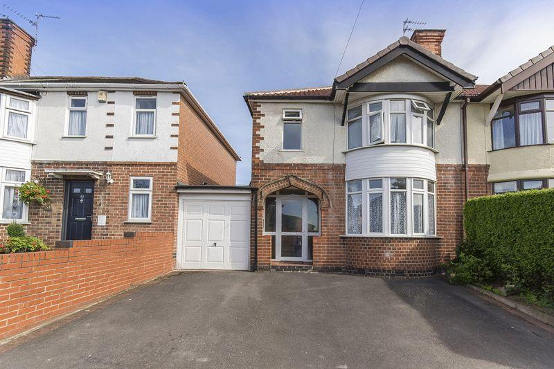 3 Bedrooms Semi Detached House for sale in WILSTHORPE ROAD, CHADDESDEN