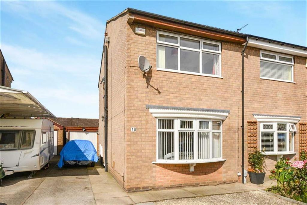 2 Bedrooms Semi Detached House for sale in Riverview Gardens, Ennerdale, Hull, HU7