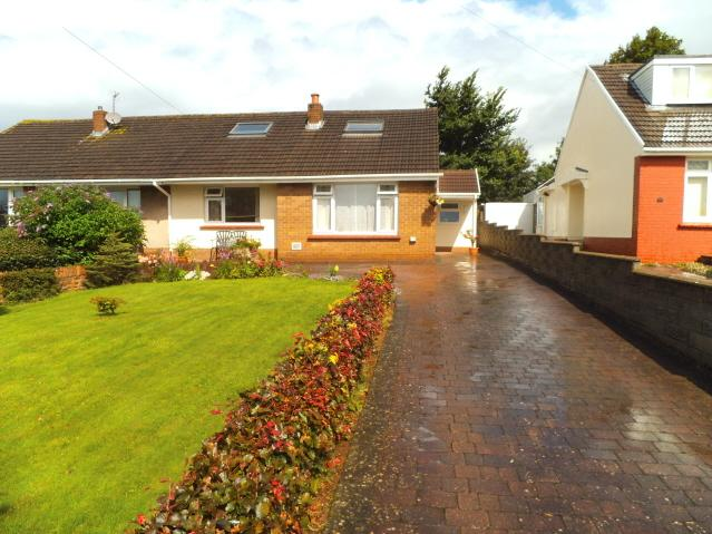 3 Bedrooms Semi Detached Bungalow for sale in Pwll Evan Ddu, Coity, Bridgend CF35