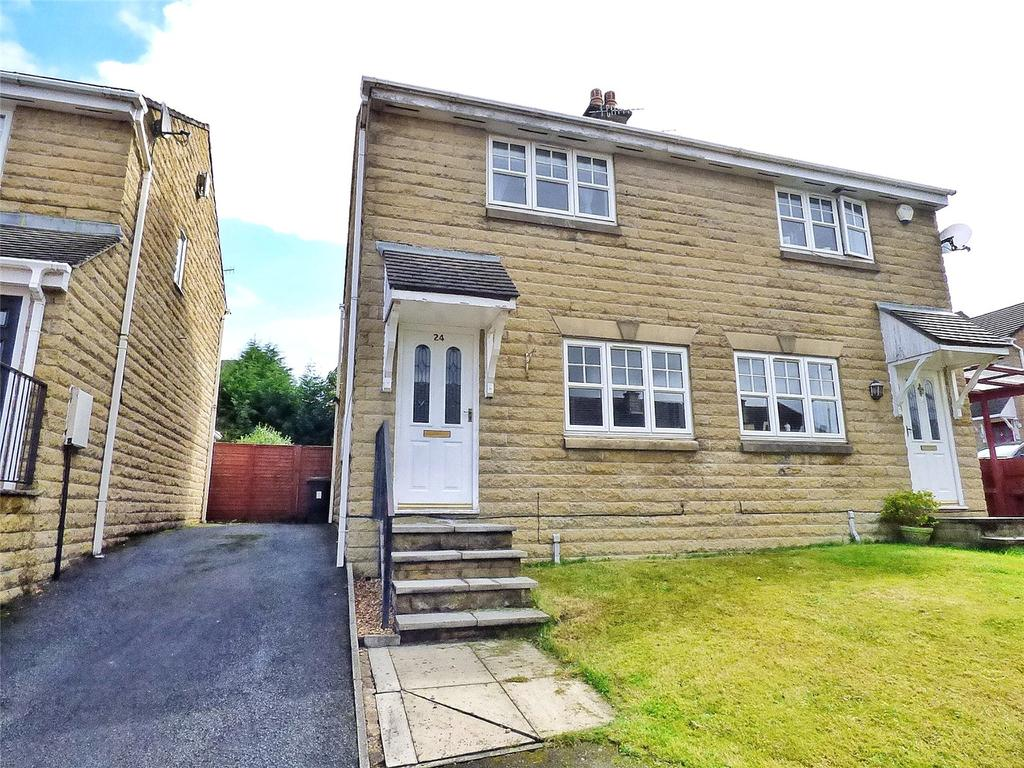 3 Bedrooms Semi Detached House for sale in Victoria Avenue, Hadfield, Glossop, SK13