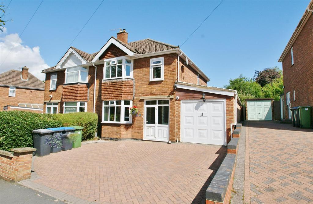 3 Bedrooms Semi Detached House for sale in Everest Road, Bilton, Rugby