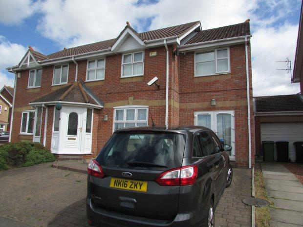 4 Bedrooms Semi Detached House for sale in HILLSIDE COURT, SPENNYMOOR, SPENNYMOOR DISTRICT