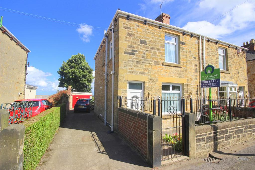 2 Bedrooms Semi Detached House for sale in The Villas, Hare Law, Stanley