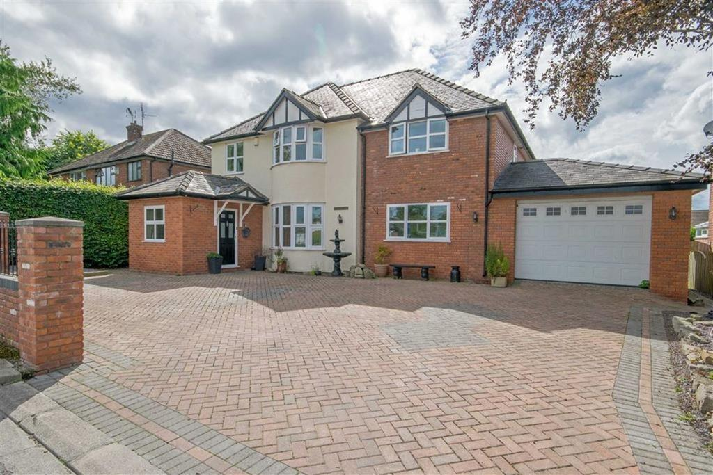 5 Bedrooms Detached House for sale in Abbotts Lane, Penyffordd, Chester, Flintshire