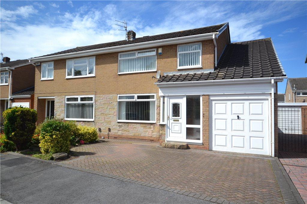 4 Bedrooms Semi Detached House for sale in Dinsdale Drive, Eaglescliffe, Stockton-on-tees