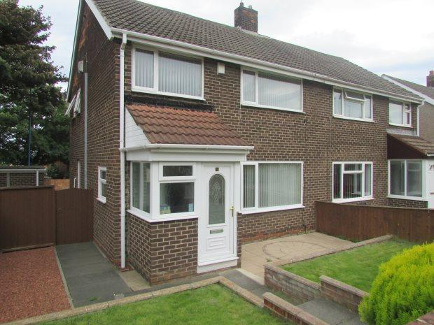 3 Bedrooms Semi Detached House for sale in SPEARMAN WALK, CLAVERING, HARTLEPOOL