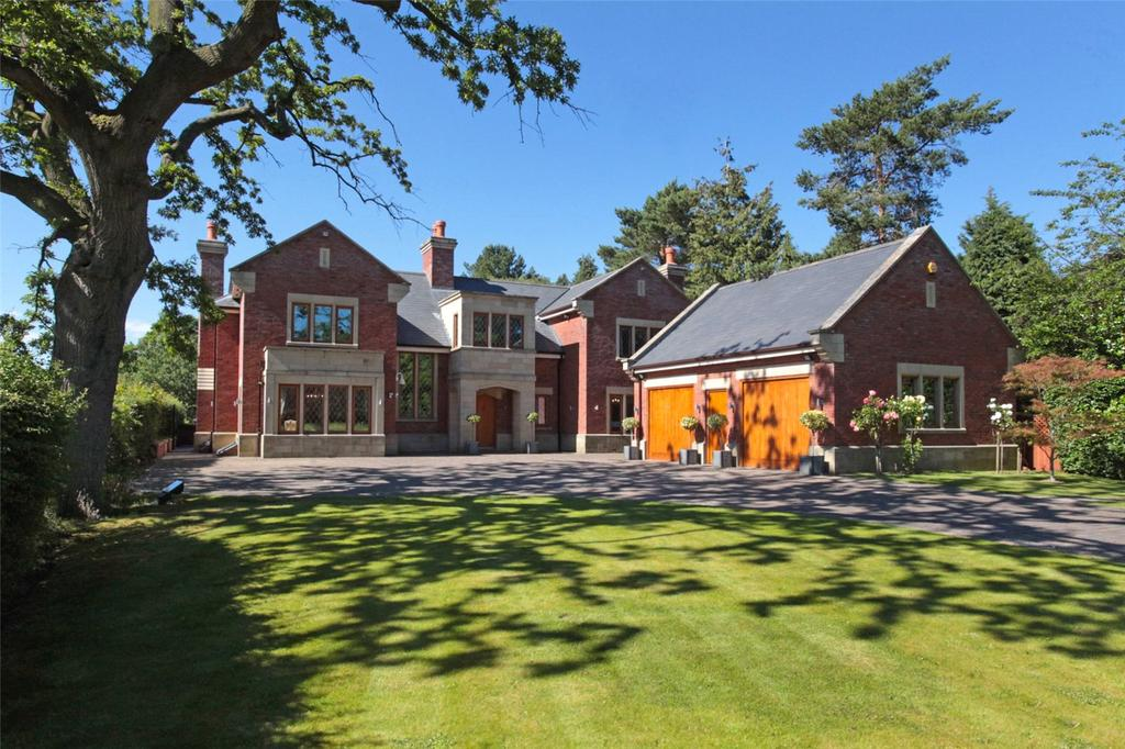 5 Bedrooms Unique Property for sale in Withinlee Road, Mottram St. Andrew, Macclesfield, Cheshire, SK10